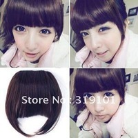 Free Shipping- new! fashion ladies' synthetic hair pieces bang with sides