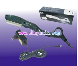 ultrasonic hot vibrating Razor for hair cut//remy hair beauty salon use 220Voltage Plug(China (Mainland))