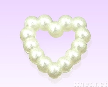 3mm ABS Heart  Pearls Flatback Jewelry Garment Accessory Beads Scrapbooking Diy
