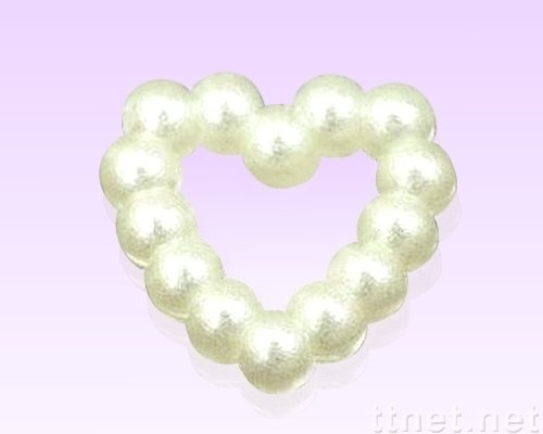 3mm ABS Heart Pearls Flatback Jewelry Garment Accessory Beads Scrapbooking Diy(China (Mainland))