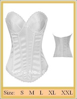 Free shipping !Front Embroidery  sexy Bustier Sexy corset Sexy Lingerie   wholesale