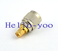 Free shipping! SMA - UHF adapter SMA Plug male to UHF Plug male straight connector