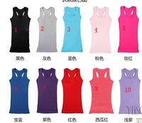 the women's  long Tank Tops condole belt vest pure cotton render strander vest Free shipping