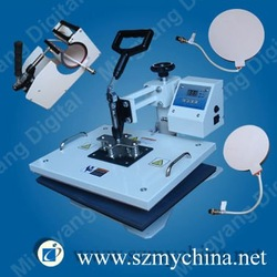 hot sale 4 in 1 T-shirt/ mug/ plate/ hat combo heat press machine(China (Mainland))