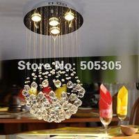 2014 new design globe shape K9 crystal chandelier free shipping By EMS ETL8050