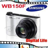 WB150F Original Samsung WB150F 18x Optical Zoom,14MP Digital Camera Free Shipping!!!