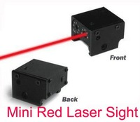 MINI PISTOL LASER SIGHT scope red dot laser Tactical rail mount weaver/picatinny