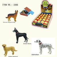 3D PUZZLE ANIMAL ( 4 ASSORTED DOGS  #3266)