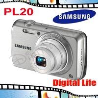 PL20 Original Samsung PL20 5x Optical Zoom,14MP Digital Camera Free Shipping!!!