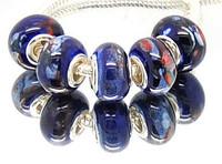 Min.order is $10( mix order ) T10 FREE SHIPPING 5pcs Ceramics European Beads Fits Charm Bracelet