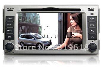 2011 Hyundai New Santa Fe GPS Navigation/HD digital touchscreen/RDS/PIP/Built-in DVB-T optional