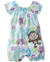 Free shipping! baby's Rompers/Children clothing/Short sleeve/ baby Ha clothing/colorful