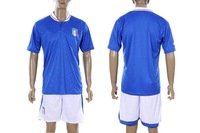 Wholesales soccer jerseys 2012 -2013 new Italy home blue TOP quality + shirts + shorts + embroidery logo + free shipping