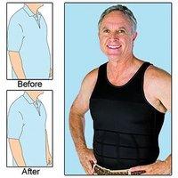 Slim And lift Slimming Silhouette Supreme Shirt For Men BodyShaper Vest For Beer Belly Body Shaper  Undershirt