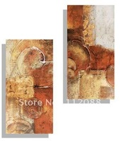 FASHION! 100% Handmade modern group abstract  oil paintings on canvas,FREE SHIPPING!