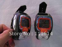 Two Way Radio Walkie Talkie Wrist Watch Style 2pcs free shipping