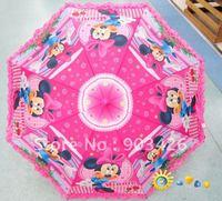Free Shipping! Mickey Mouse Umbrella Cartoon Straight Umbrella School Rain Gear G0326 on Sale Wholesale
