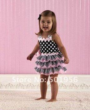 2015 new arrival 3 Pieces Baby Dress tutu Baby girls dress children dress Summer Baby Wear