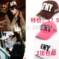 Free shipping Afny women's baseball cap female lovers spring summer Women sun-shading cap