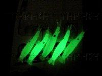 Promotional ! 20Pack(100pcs) Per Lot Saltwater Fishing Rigs Sea Fishing Sabiki Glow Shrimps