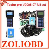 DHL Free Shipping Unlocked version 2008.07 Tacho pro 2008 Odometer Correction Universal Dash Programmer 2008 Tacho Pro