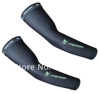 For Merida UV Protection Cycling Bicycle Bike Sport Arm Sleeve Black