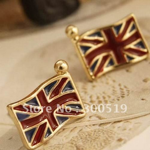 New style national flag earring jewelry FreeSample