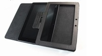 Black Leather Stand Case cover For Asus Eee Pad Transformer TF300 TF300T