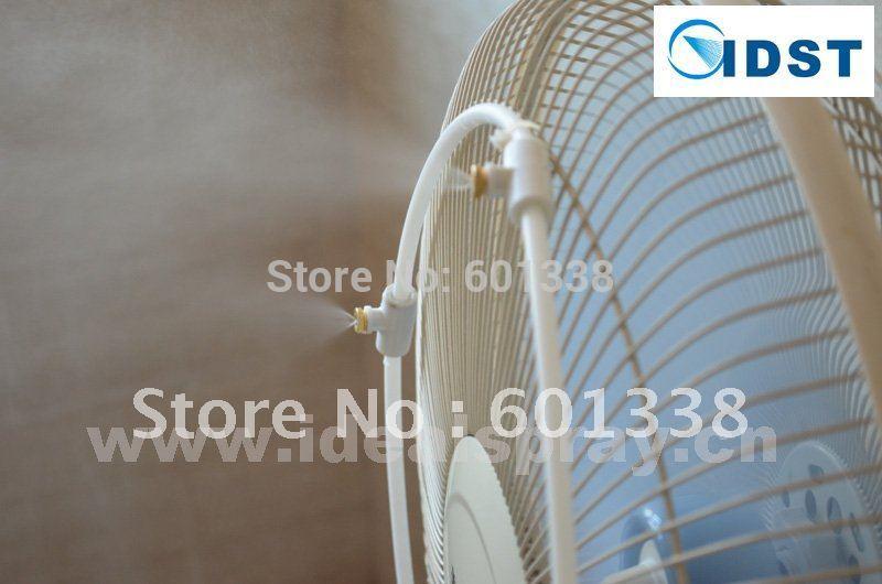 Diy Misting System : Meters length summer outdoor cooling fog system diy