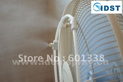 15 Meters Length Summer Outdoor Cooling Fog System, DIY Misting System, Mistingscaping, Misting Fan, Free Shipping(China (Mainland))