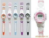 Fashion Cartoon Plastic Digital Watch multi -designs with 5 color bands Kid WRIST WATCH Free Shipping 200pcs/lot