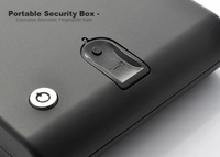 Free shipping Portable Biometric Safe for handgun or drugs, quick access