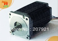 Wantai  Nema34 stepper motor 5.1N.M holding torque 1.65A / 6.27V  97mm length 4 leads CNC Engraving Milling