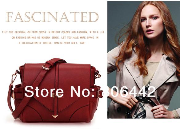 New Fashion Ladies' Satchel Simple Purse Bag Women Handbag Designer Inspired(China (Mainland))