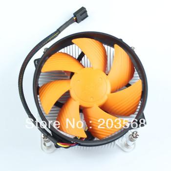 Free Shipping PC CPU Cooling Quiet Fan Cooler Heat Sink For Intel Core i3 i5 i7 LGA1156