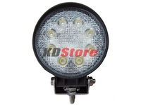 New Free Shipping Multi-function 24W LED Work light Spot Beam 10-30V DC Waterproof (10063)