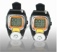 Free shipping!! 2PCS 2-WAY Radios Freetalker Wrist Walkie Talkie Watch