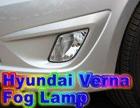 hyundai verna fog lamp orginal China Post Free shipping