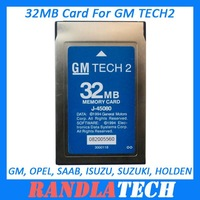 Hot Sale 32MB CARD FOR GM TECH2 Six Softwares Avaliable (GM, OPEL, SAAB, ISUZU, SUZUKI, HOLDEN) Free Shipping