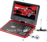 New Arrival  Cheap 9 inch portable DVD player(size:220*190*42cm)can play SD / MS / MMC/CD/ VCD/DVD/MP3/JPEG/MPEG4