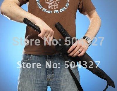 Free Shipping 1Piece Mini Samurai Folding Umbrella Sword Black Ninja Umbrella(China (Mainland))