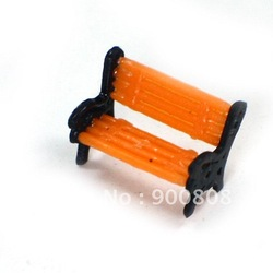 20pcs free shipping model chair for train layout 1:160 N scale(China (Mainland))