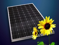 DHL Free Shipping--Cheap price of solar panels 200W monocrystalline silicon for sale in stock