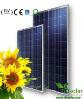 DHL Free Shiping--Polycystalline solar panel 235W by high effiency poly solar cells TUV/IEC/CE certificated