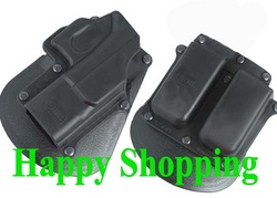 Fobus pistol holster and magazine 6900 holder for G17(China (Mainland))