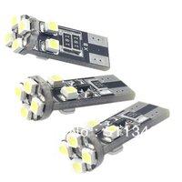 free shipping special offer 10pcs T10 8 SMD 5050 LED Canbus Light White 12V