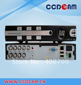 High performance H.264 8CH Stand alone DVR cctv dvr realtime recording DVR with good quality EDR-6108