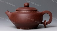 A-Class YIXING purple clay pure handwork teapot,190ML. free shipping,LM1223