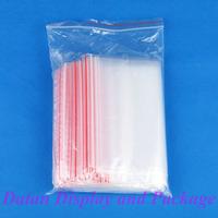 Wholesale 200 Clear View Plastic Ziplock Packing Bag 15X22cm