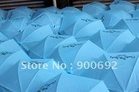 100pcs/lot Free shipping Logo printing  Folding umbrella/Transparent umbrella/girls &kids umbrella